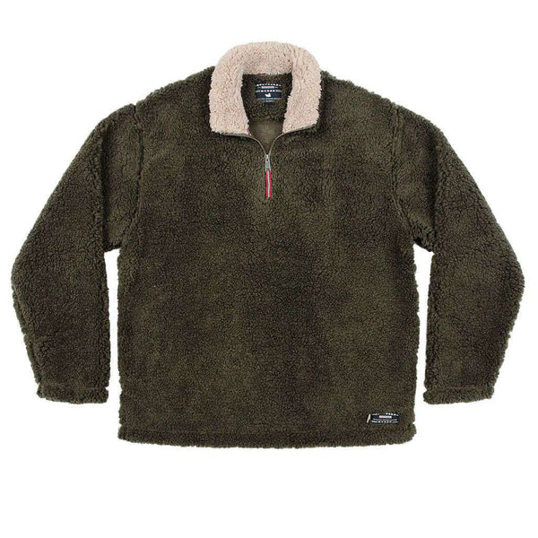 Southern Marsh Appalachian Pile Pullover Stone Brown