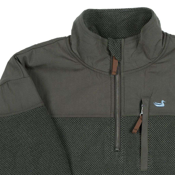 Southern Marsh Barton Vintage Pullover in Charcoal Gray