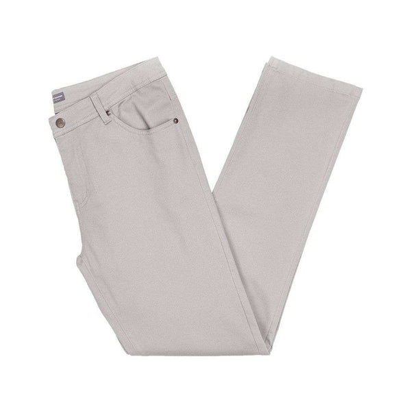 Southern Marsh Brazos Stretch Twill Pant in Washed Grey