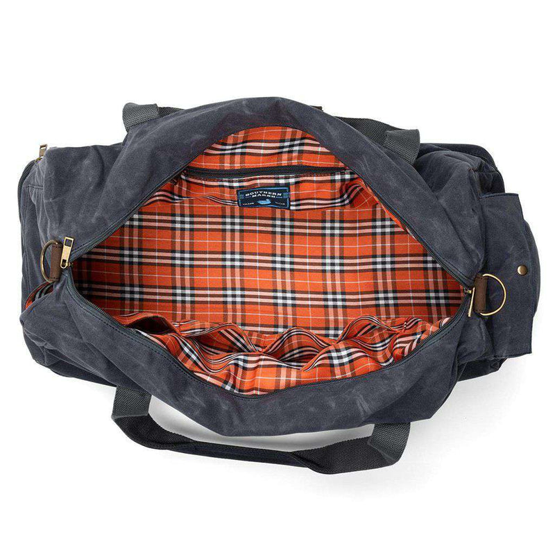 Dewberry Duffel Bag in Navy by Southern Marsh