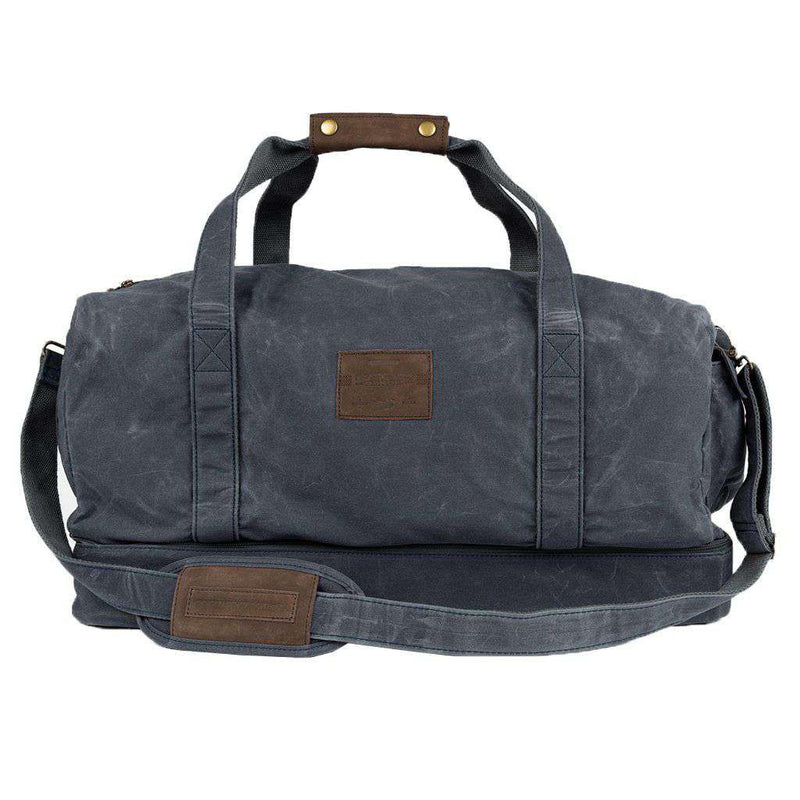 Southern Marsh Dewberry Duffel Bag in Navy by Southern Marsh