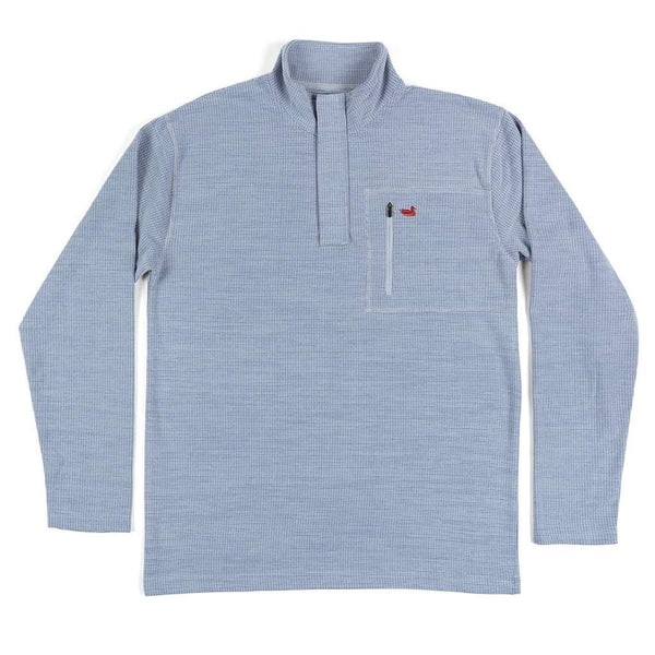 Southern Marsh FieldTec™ Contour Pullover in Light Gray