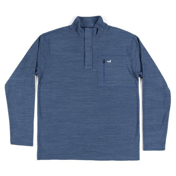 "FieldTecâ""¢ Contour Pullover in Washed Navy by Southern Marsh"