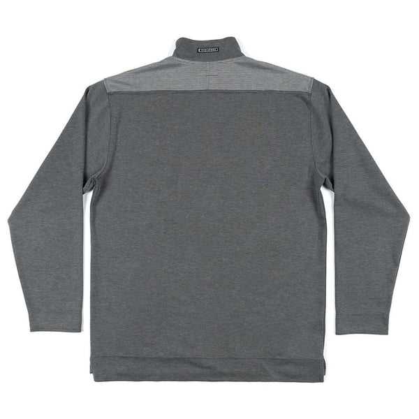 "Southern Marsh FieldTecâ""¢ Ridgeway Performance Pullover in Charcoal Gray"