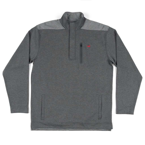 Southern Marsh FieldTec™ Ridgeway Performance Pullover in Charcoal Gray