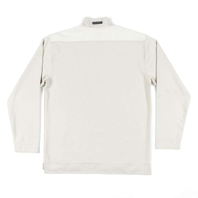 "Southern Marsh FieldTecâ""¢ Ridgeway Performance Pullover in Oatmeal by Southern Marsh"