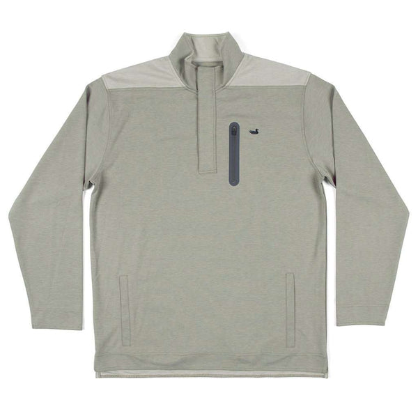 Southern Marsh FieldTec™ Ridgeway Performance Pullover in Sandstone