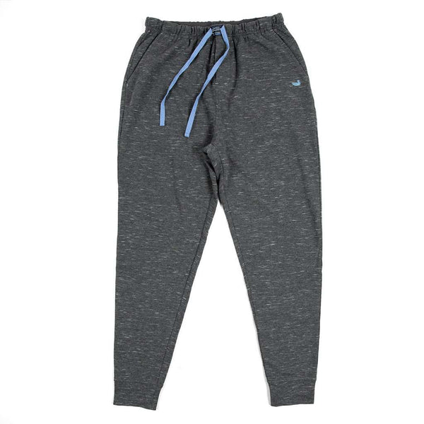Southern Marsh Hearth French Terry Lounge Pants in Midnight Gray