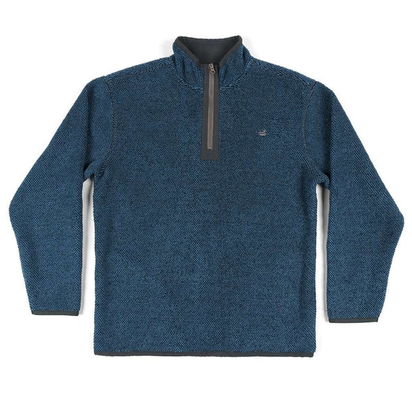 Southern Marsh Highland Alpaca Pullover in Navy