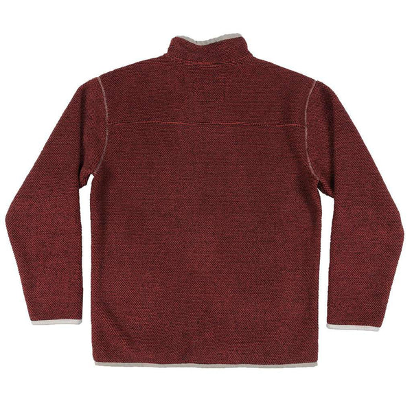 Southern Marsh Highland Alpaca Pullover in Washed Red by Southern Marsh