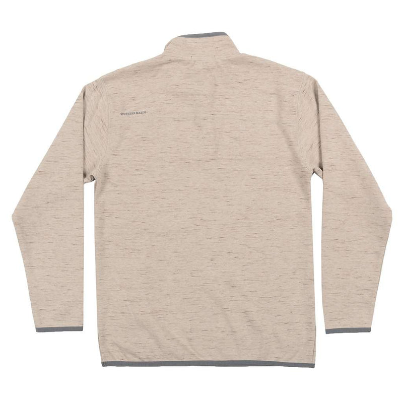 Lockhart Stretch Pullover in Burnt Taupe by Southern Marsh