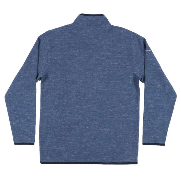 Lockhart Stretch Pullover in Washed Navy by Southern Marsh