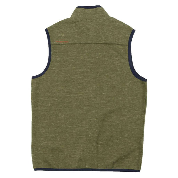 Lockhart Stretch Vest in Olive by Southern Marsh