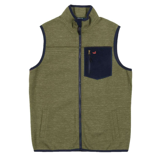 Southern Marsh Lockhart Stretch Vest in Olive