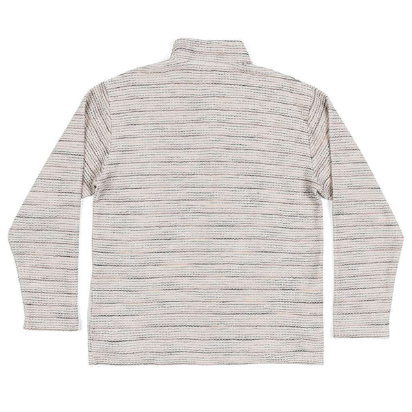 Southern Marsh Pawleys Striped Rope Pullover in Oatmeal by Southern Marsh