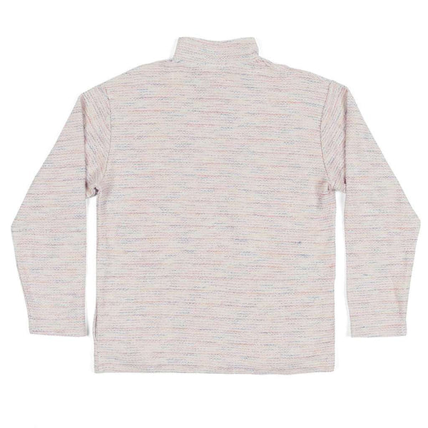 Southern Marsh Pawleys Striped Rope Pullover in White