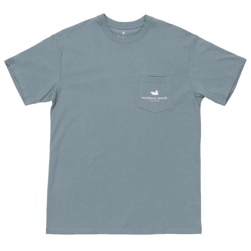 River Route Collection - Texas & Oklahoma Tee in Burnt Sage by Southern Marsh