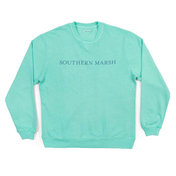 "Southern Marsh SEAWASHâ""¢ Sweatshirt in Antigua Blue"