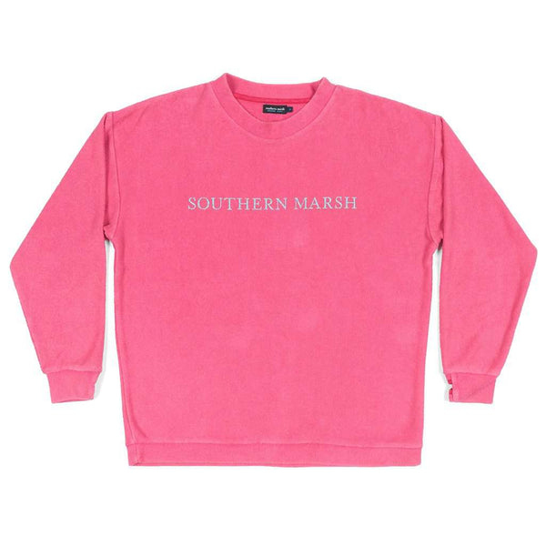 Southern Marsh Sunday Morning Sweater in Strawberry Fizz