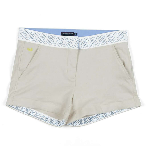 The Hannah Short in Khaki by Southern Marsh