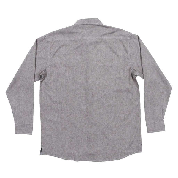 West End Performance Woven Dress Shirt in Burnt Taupe by Southern Marsh - FINAL SALE