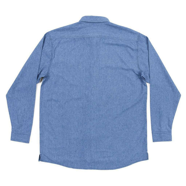West End Performance Woven Dress Shirt in French Blue by Southern Marsh - FINAL SALE