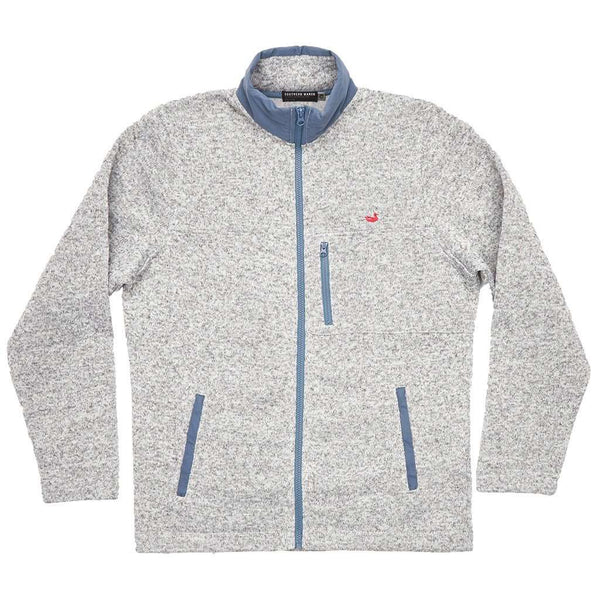 Southern Marsh Woodford Full Zip Jacket in Avalanche Gray