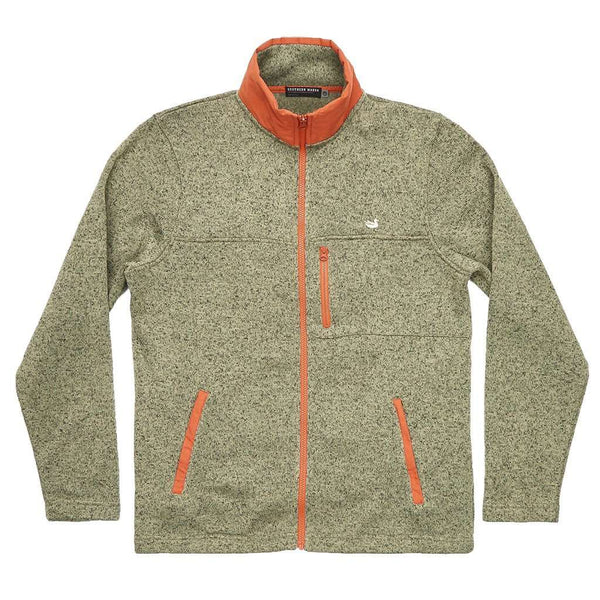 Southern Marsh Woodford Full Zip Jacket in Sandstone