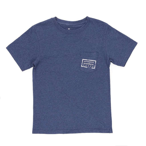 Southern Marsh Youth Authentic Tee in Washed Navy by Southern Marsh