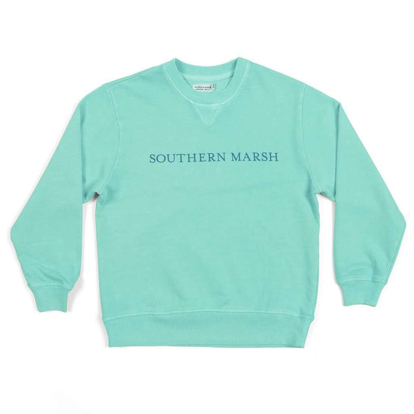 "Southern Marsh Youth SEAWASHâ""¢ Sweatshirt in Antigua Blue"
