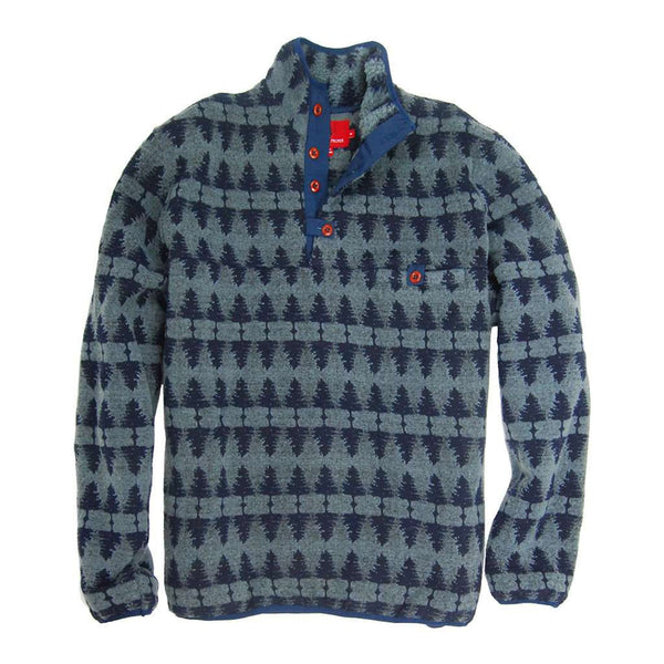 Southern Proper Forest Pullover in Blue Stone