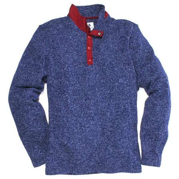 Southern Proper Getty Fleece in Midnight Blue