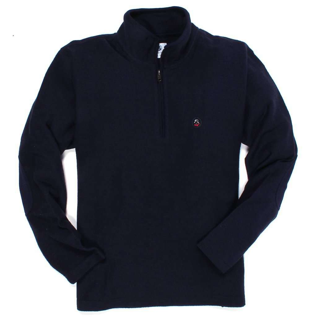 Southern Proper Nelson Pullover in Midnight Blue
