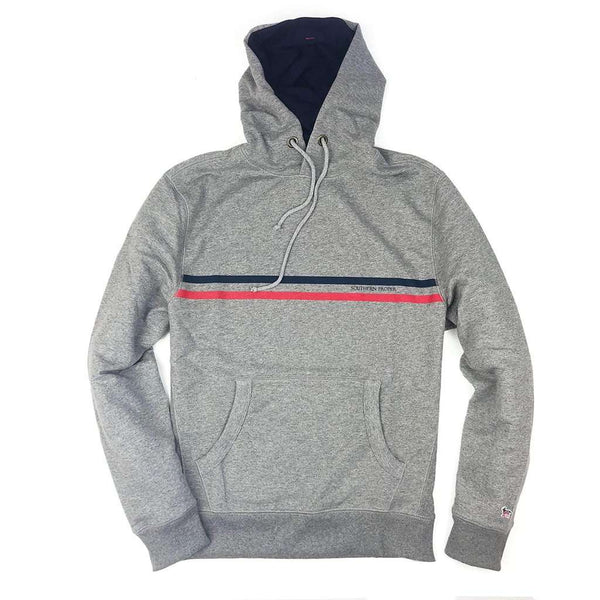 Southern Proper Party Animal Hoodie in Heather Grey