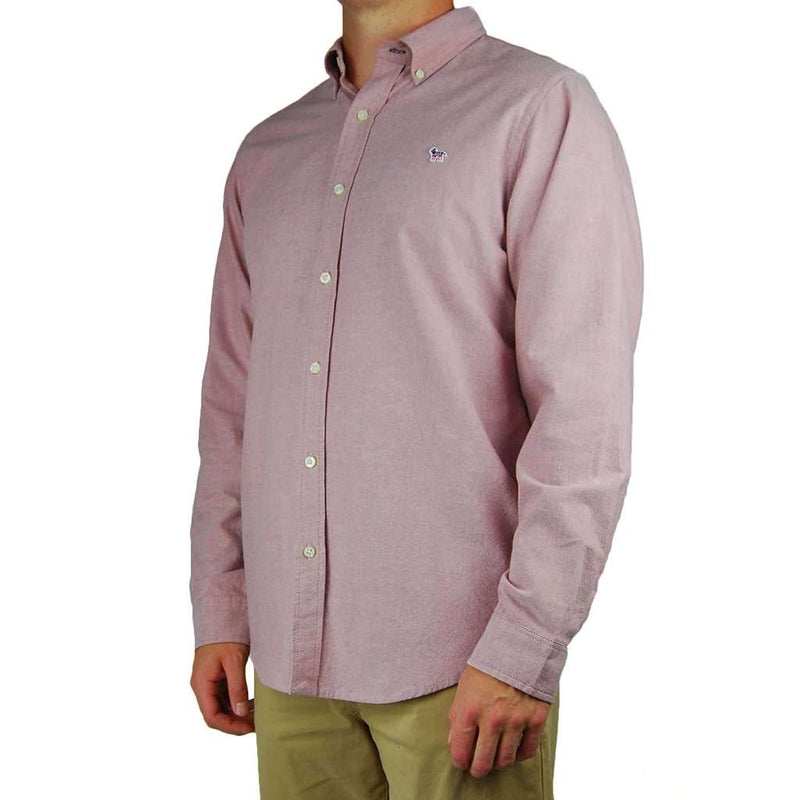 Party Animal Oxford in Dusty Cedar by Southern Proper - FINAL SALE
