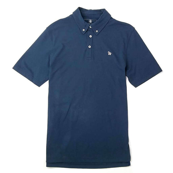 Southern Proper Party Animal Polo in Blueberry