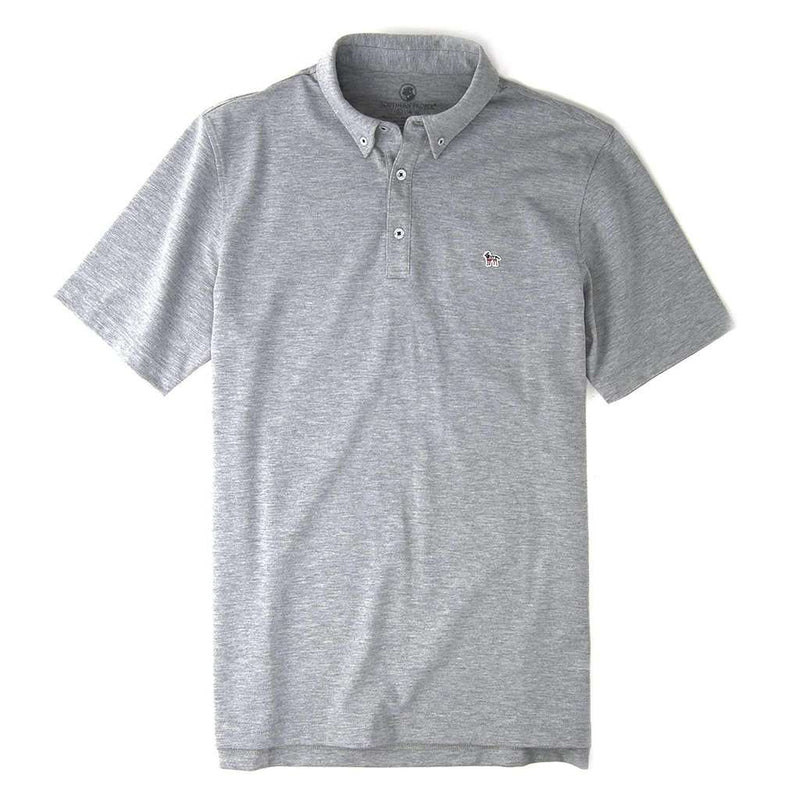 Southern Proper Party Animal Polo inn Heather Grey