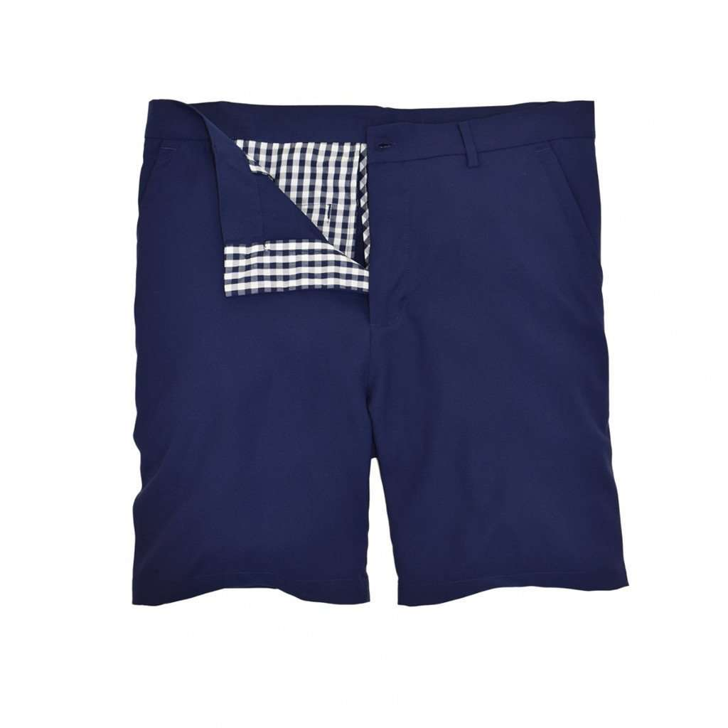 Performance Club Short in Navy by Southern Proper - Country Club Prep