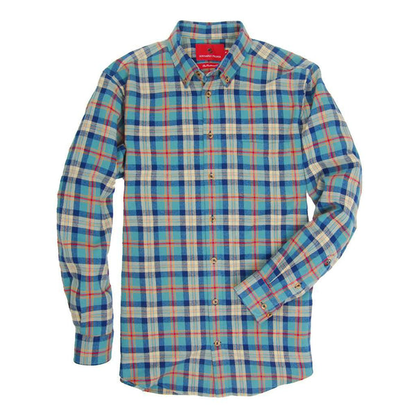 Southern Proper Southern Flannel in Burton Plaid