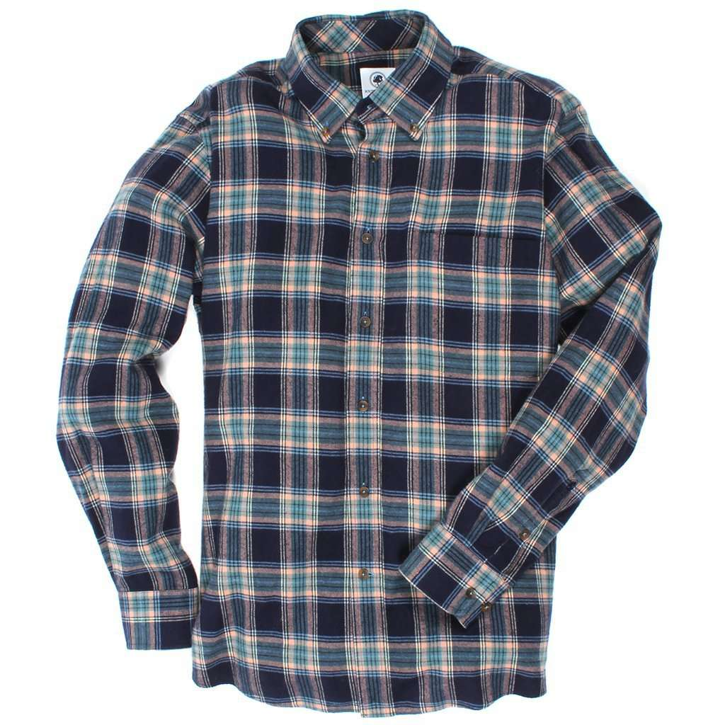 Southern Proper Southern Flannel in Chase Plaid