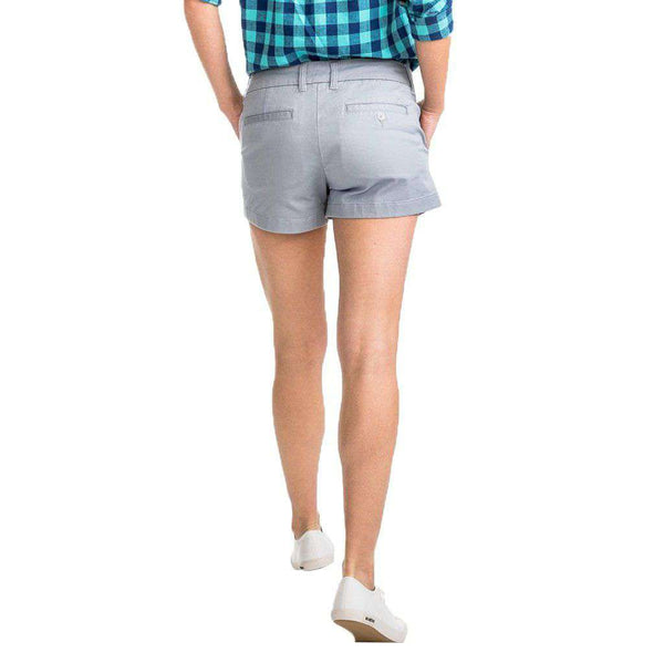 "Southern Tide 3"" Leah Short gravel grey"