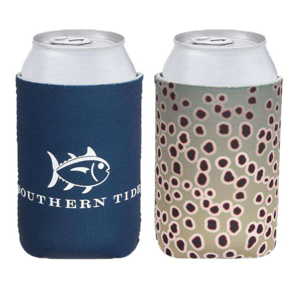 Southern Tide Brown Trout Fish Skin Magnetic Can Caddie