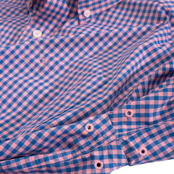 Causeway Gingham Intercoastal Performance Shirt by Southern Tide - FINAL SALE