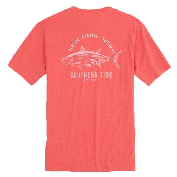 Southern Tide Coastal Fish Series Skipjack Heathered T-Shirt