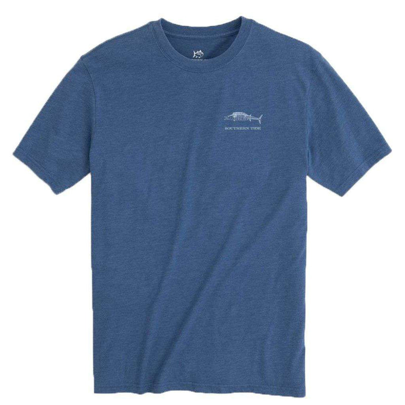 Coastal Fish Series Wahoo Heathered T-Shirt by Southern Tide - FINAL SALE