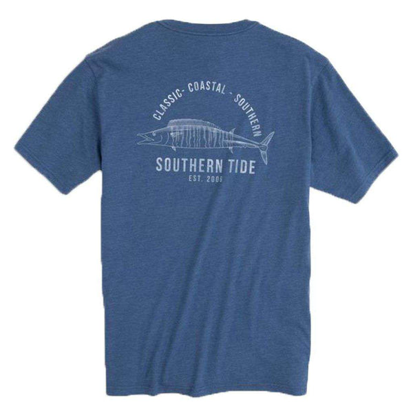 Southern Tide Coastal Fish Series Wahoo Heathered T-Shirt