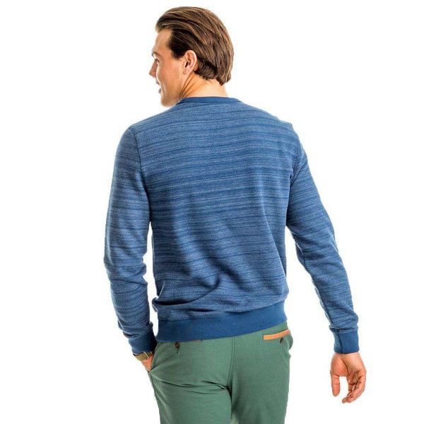 Southern Tide Commons Ford Pullover in Yacht Blue by Southern Tide