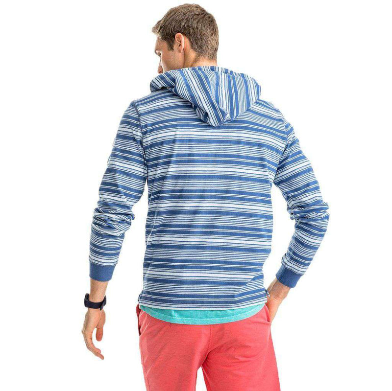 Southern Tide Cruiser Stripe Hoodie by Southern Tide