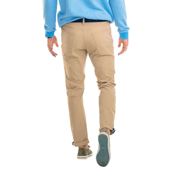 Intercoastal Performance Pant in Sandstone Khaki by Southern Tide