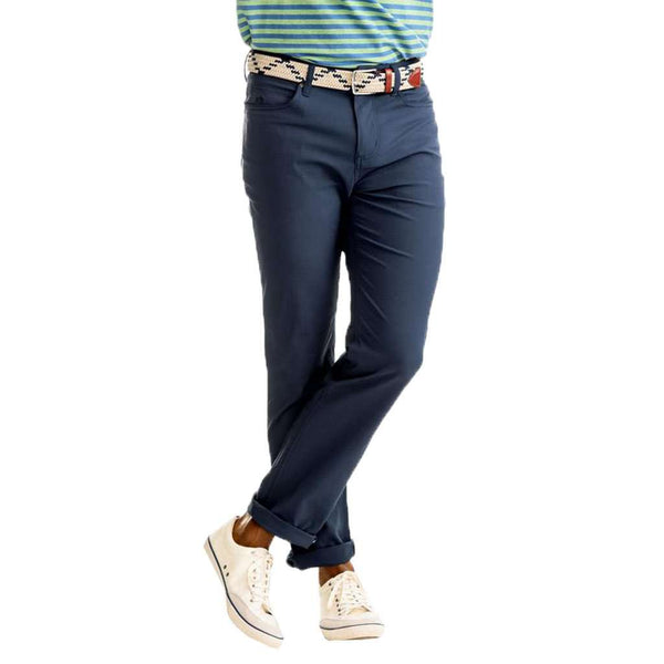 Southern Tide Intercoastal Performance Pant in True Navy